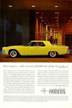 61 Lincoln Continental