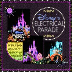 This is an idea for you if you got that one in a million chance to travel to Disney World. you can use your pictures from Disney World with the Disney theme.