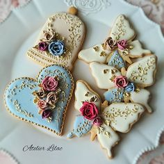 Amazing work and colors combination cookies