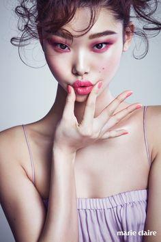 Makeup Inspo, Makeup Art, Makeup Inspiration, Beauty Makeup, Eye Makeup, Hair Makeup, Monochromatic Makeup, Regard Intense, Fotografia Macro