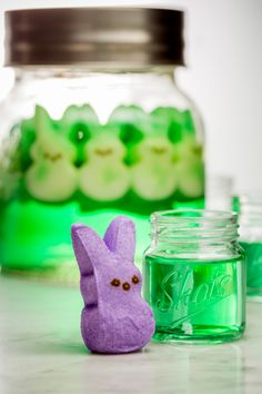 Peeps-Infused Vodka It looks like a science experiment gone wrong, but it tastes so right.