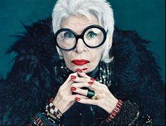 Iris Apfel - Businesswoman/Style Guru