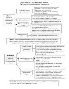 Etapizarea unui program de recuperare kinetoterapeutic