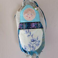 sac à sacs matriochka turquoise