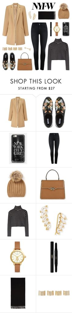 """Pack for NYFW"" by lgb321 ❤ liked on Polyvore featuring Miss Selfridge, Dune, Casetify, Joseph, Valentino, Jennifer Zeuner, Tory Burch, Yves Saint Laurent, Acne Studios and Maison Margiela"