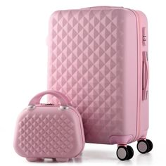14+20 Inch,Woman Travel Case Suitcases,diamond Luggage Travel Bag,ABS Travel Luggage,Rolling Luggage,Suitcase On Wheels