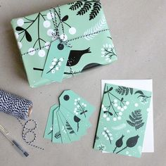 ** Set Gift wrapping paper winter & Gift tags**  · 3 sheets / dimension 60 x 42 cm (DIN A2) · one-sided print on coated paper matt 135 g/m2 · for shipping I sadly have to fold a sheet twice to...