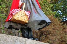 How to make girls dress...little red riding hood