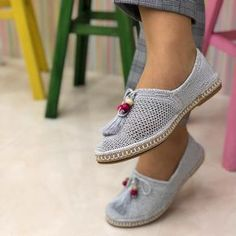 Diy Crafts - project,Ravelry-Ravelry: Project Gallery for P - Gallery project Ravelry Pinterest Crochet, Crochet Shoes Pattern, Shoe Pattern, Crochet Sandals, Crochet Slippers, Crochet Diy, Hand Crochet, Spring Boots, Knit Shoes