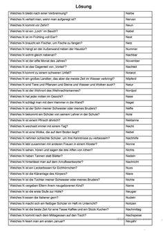 Eine Zwischendurchübung (27) - ABC Spiel (N-Rätsel) - Deutsch Daf Arbeitsblatter General Knowledge Book, German Grammar, Baby Equipment, German Language Learning, Military Operations, Fun Games For Kids, Baby Games, How To Get, How To Plan