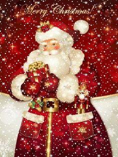 Christmas Yard, Christmas Scenes, Christmas Holidays, Merry Christmas, Christmas Decorations, Vintage Christmas Images, Christmas Pictures, Thomas Kinkade Christmas, Father Xmas