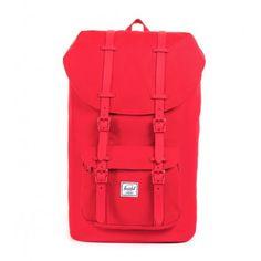 Herschel Little America hátizsák - red rubber