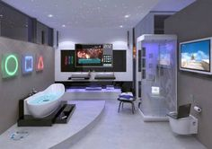 Video-Game-Room-Ideas-Playstation-Bathroom.jpg (600×424)