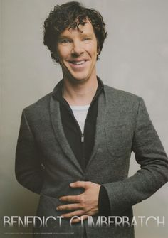 Benedict Cumberbatch /// oh just look at him!! Love discovering new photos of Ben. Very handsome!