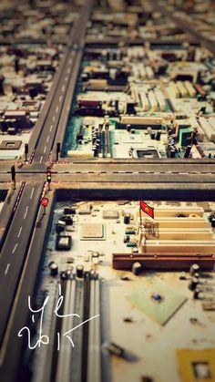 "Photography ""digital city"" Morocco. Available on e-shop Made in Medina"