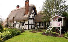 moois en liefs: Cottage in Birlingham, Worcestershire, UK
