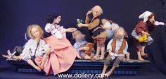 """Snow White & the 7 Dwarfs"" by Mark Dennis"