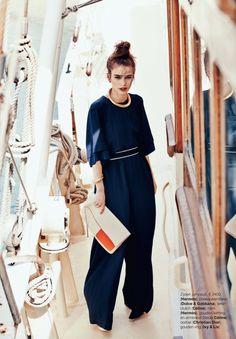 Iulia Cirstea by Hans van Brakel for Marie Claire Netherlands July 2014