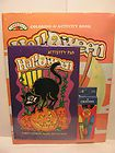 Halloween Coloring  Activity Book and Activity Pad new