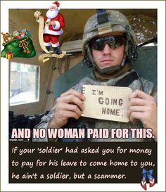 Military love scams