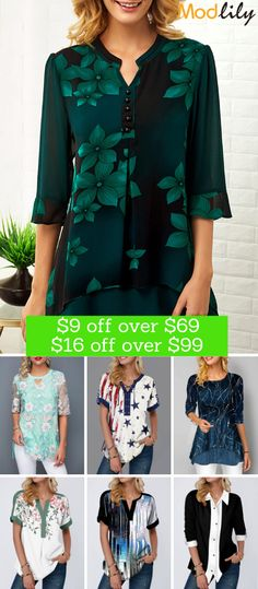 Modlily fashion top on hot sale&special discount Blue Dress Outfits, Pretty Outfits, Casual Outfits, Mens Hairstyles Side Part, Men's Hairstyles, Trendy Tops For Women, Cute Outfits For School, Modest Dresses, Fashion Dresses