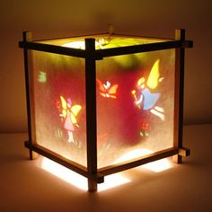 How to make a rotating lamp shade i could make that pinterest soothe your child with a fairy magic spinning lamp aloadofball Images