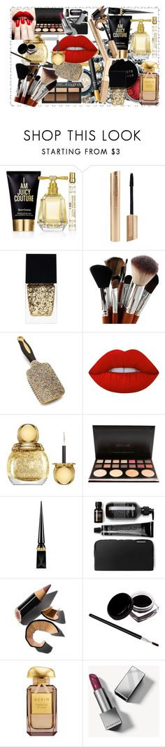"""make up"" by santyfebrina-nasution on Polyvore featuring beauty, Concrete Minerals, Juicy Couture, Witchery, Lime Crime, Christian Dior, Christian Louboutin, Bobbi Brown Cosmetics and Burberry"
