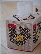 Plastic Canvas Tissue Boxes, Plastic Canvas Crafts, Plastic Canvas Patterns, Chicken Pattern, Box Patterns, Stitch Patterns, Kleenex Box, Diy Canvas, Canvas Ideas