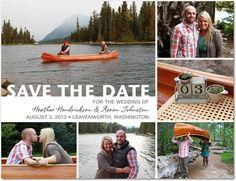 Loved our Save The Date   weddingpaperdivas.com