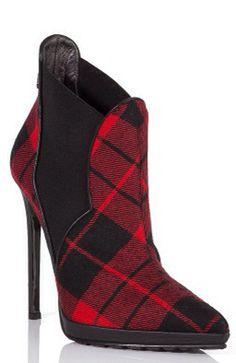 Philipp Plein tartan heels