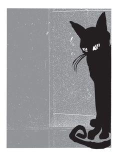 Black Cat 2 by Print Mafia. Print from Art.com, $49.99