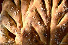 Fougasse z oliwkami, wg przepisu Hamelmana
