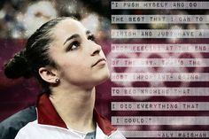 That's themost important- going to bed knowing that I did everything that I could. -Aly Raisman