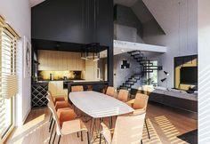 Zdjęcie projektu Murator M210 Jasna przestrzeń WAJ3695 Decor, Table, Home, Furniture, Conference Room Table, Room