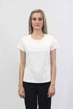 Camisa Feminina - Com bolso - Uniforme profissional BH