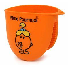 Disponible sur Maisondulinge.fr Manique Silicone Monsieur & Madame® Orange