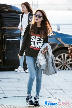 Girls day Minah airport fashion, love it
