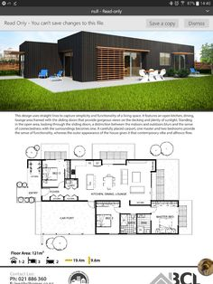 Make bed 3 our library/study House Layout Plans, Dream House Plans, Modern House Plans, Small House Plans, House Layouts, Modern House Design, Building A Container Home, Container House Plans, Casas Containers