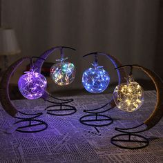 The Crescent Moon Fairy Light Lantern brings a colorful glow to your favorite spaces. Shop for creative lighting from around the globe at the Apollo Box. Led Lantern, Lanterns, Lantern Lighting, Galaxy Bedroom, Christmas Crafts, Christmas Bulbs, Moon Fairy, Apollo Box, Moon Decor