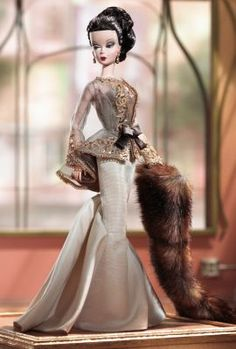 Chataine™ Barbie® Doll | barbie-fashion-model-collection-silkstone | The Barbie Collection