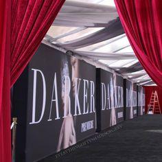 Red Carpet at Fifty Shades Darker Premiere #fiftyshades #fiftyshadesdarker