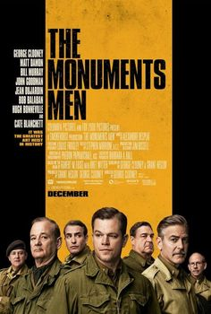 The Monuments Men Movie Review I CAN'T WAIT TO SEE THISSSSSSSSSSSSSS    http://www.moviewebhd.com/2014/01/watch-monuments-men-online-free.html