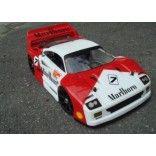 Ferrari F40 rc car body. 325mm (320 -330mm wheel base) Fits Ofna GTP2E Kyosho Inferno GT Serpent. Buy at www.deltaplastik,com or at our Ebay store www.ebay.com/DeltaPlastikUSA