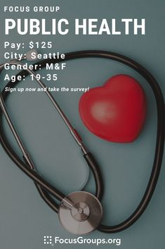 Online Focus Group on Public Health in Seattle