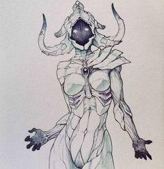 Super Ideas For Concept Art Sketches Ideas Fantasy Character Design, Character Design Inspiration, Character Art, Monster Concept Art, Monster Art, Monster Sketch, Creature Concept Art, Creature Design, Dark Fantasy Art