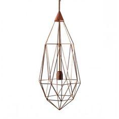 Diamond hanglamp Large Copper   Musthaves verzendt gratis