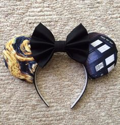 Hey, I found this really awesome Etsy listing at https://www.etsy.com/listing/236511389/doctor-who-inspired-mouse-ears-custom