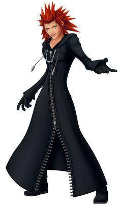 "Axel - Kingdom Hearts. You know you're a Kingdom Hearts fan if you've ""Got it memorized""."