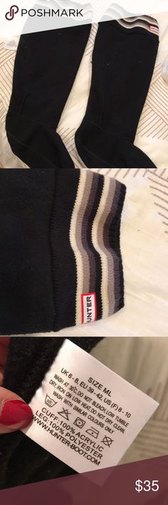 Hunter Boot Socks Medium/large, AUTHX hunter socks Hunter Boots Shoes Winter & Rain Boots