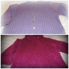 von 2005 / 2007 Jacke nach einem Modell aus einer Filati Pullover mit kuschelweichem Kid Mohair